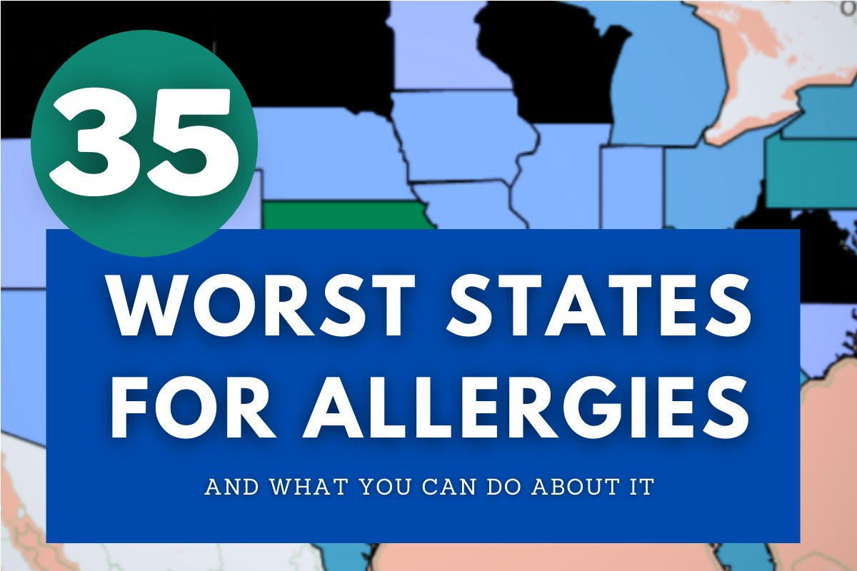 35 worst states for allergies cover